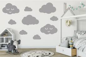 Cloud Wall Stickers Decals For Kids Wall Stickers Kids Room Decor