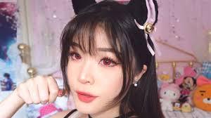 anime cat makeup you