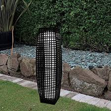 pozostałe rattan solar powered lamp led