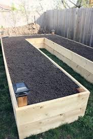 elevated garden plot
