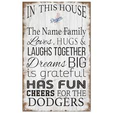 Official Los Angeles Dodgers Wall Decorations Dodgers Signs Posters Tavern Signs Mlbshop Com