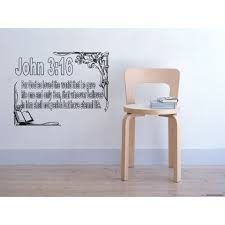 Shop Quote Framed For God So Loved The World Wall Art Sticker Decal Overstock 11548391