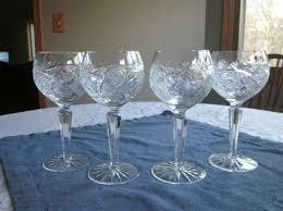 wine glasses 20 75 oz clear crystal