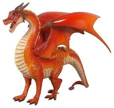 large welsh dragon statue