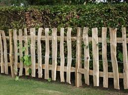 Oak Fence Rustic Garden Fence White Picket Fence House Rustic Fence