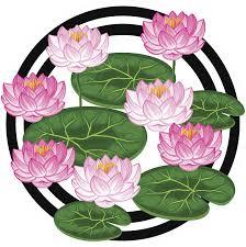 Amazon Com Divine Designs Pretty Pink And White Lotus Lily Pad Vinyl Decal Sticker 4 Wide Automotive