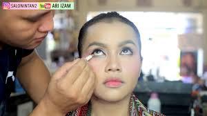 tutorial makeup mata barbie simple