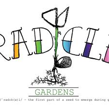 Radicle Gardens - Logo designed by Rich Butler, Jo...   Facebook