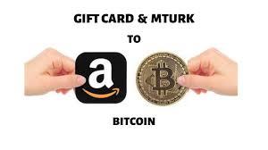 convert amazon gift card to bitcoin