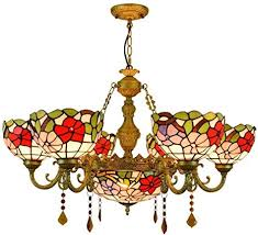 tiffany style chandelier creative