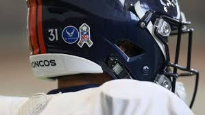 Broncos Players Reveal Military Inspirations Behind Helmet Decal Selections