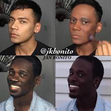 black male makeup artist insram