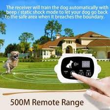 Wireless Dog Fence With Collar Wireless Dog Fence Dog Fence Fun Facts About Dogs