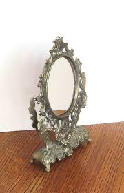 ornate framed mirror small intricate