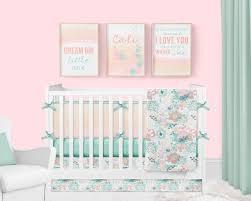 girl crib bedding ocean baby girl