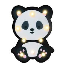 Novelty Animal Led Night Light Decoration Childrens Room Bedside Lamp Kids Toy Battery Operated Led Portable Night Light For Baby Boys Or Girls Panda 0 Panda Things