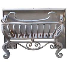 fireplace grate or fire basket