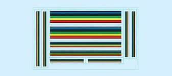 Olympic Stripes Bicycle Decals Transfers Stickers 1 10 45 Picclick