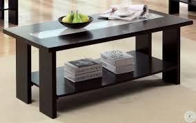 luminar ii espresso coffee table from