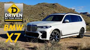 driven the 2019 bmw x7 you