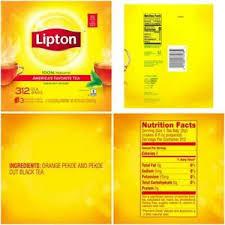 lipton black tea bags america s