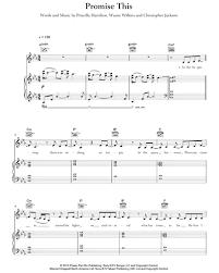 Priscilla Hamilton: Promise This sheet music | nkoda