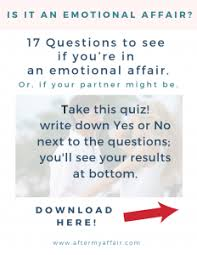 what is an emotional affair and is it