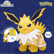Build-A-Bear Jolteon Pokemon Plush Now Available