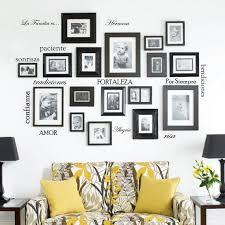 Winston Porter 12 Piece Family Quote Words Vinyl La Familia Es Spanish Wall Decal Set Wayfair