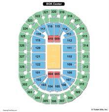 bok center seating chart seating
