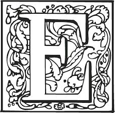 Letter E Kleurplaat Gratis Kleurplaten Printen