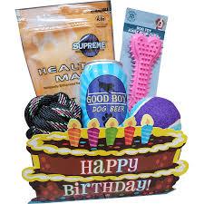 happy birthday dog gift basket paws place