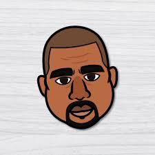 Kanye Icon Sticker Decal Pop Culture Laptop Phone Car Skateboard Vinyl 0808bm Ebay