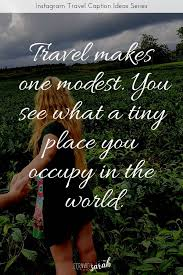 travel captions for instagram beautiful travel quotes to rock