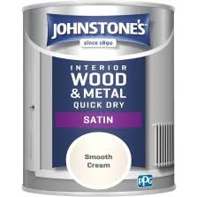 Johnstones One Coat Shed Fence Paint 9l Forest Green Tony Almond