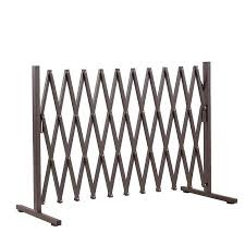 Expandable Metal Steel Safety Gate Trellis Fence Barrier Traffic Indoor Outdoor Crazy Sales