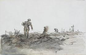 Telephone Wire Layers (Art.IWM ART 224) Adrian Hill | War art, Ww1 ...