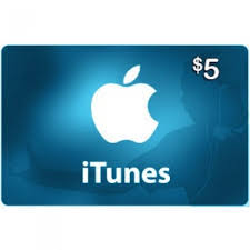 itunes 5 usa gift card apple