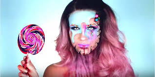 try this candy makeup tutorial