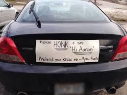 prank on her husband.