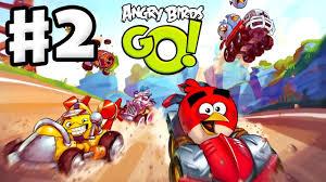 Angry Birds Go! Gameplay Walkthrough Part 2 - Kart Leveled Up ...