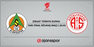 Alanyaspor Antalyaspor maçı canlı izle