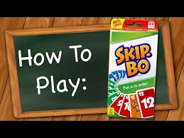 how to play skip bo you