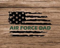 Air Force Dad Decal Etsy