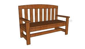 2x4 bench plans howtospecialist how