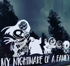 Buy 3 Free 1 New Nightmare Christmas Car Decal Sticker Jack Skellington Black Wish