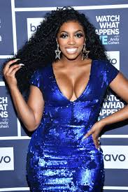 RHOA's Porsha Williams Puts on Sultry Display in a Tight Red Dress with a  Deep Neckline (Photo)