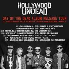 hollywood undead announce new al and