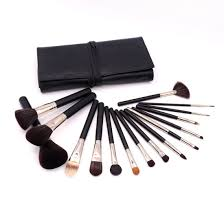 makeup brush set with gorgeous designer