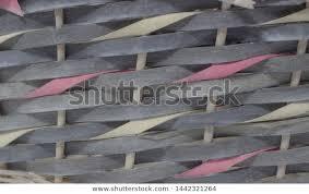 Structure Background Wicker Basket Pattern Round Stock Photo Edit Now 1442321264